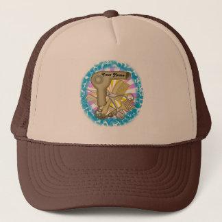 Beautician custom name hat