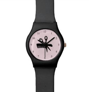 Beautician Design Pink Watch