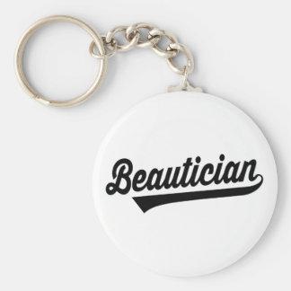 Beautician Keychain