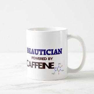Beautician Powered by caffeine Mugs