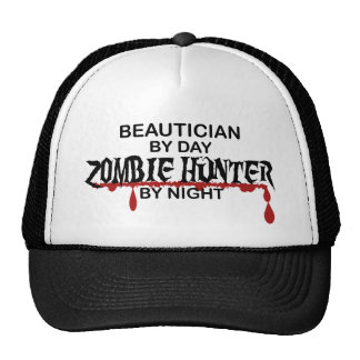 Beautician Zombie Hunter Trucker Hat