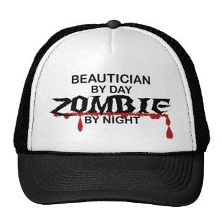 Beautician Zombie Trucker Hat