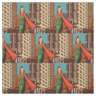 beautiful 1940s uptown girl print fabric