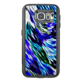 Beautiful Abstract Blue Green White Purple Pattern OtterBox Samsung Galaxy S6 Case
