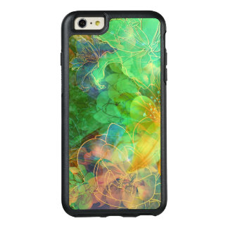Beautiful Abstract Flowers OtterBox iPhone 6/6s Plus Case