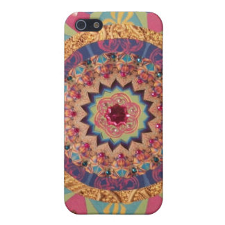 Beautiful Abstract Mandala Phone Case iPhone 5 Cases