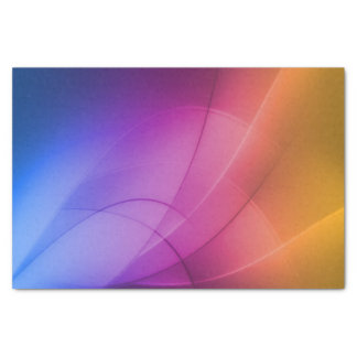 Beautiful Abstract Rainbow Tissue Paper