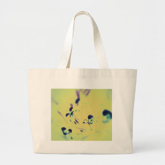 Beautiful Abstract Slipper Orchids in Purple With Jumbo Tote Bag