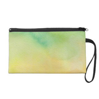 Beautiful Abstract Watercolor Wristlet