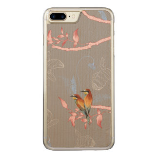 Beautiful african bee to eater carved iPhone 8 plus/7 plus case