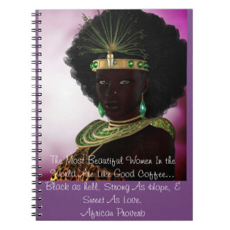 Beautiful African Proverb Journal