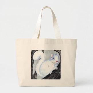 Beautiful Albino Squirrel Large Tote Bag
