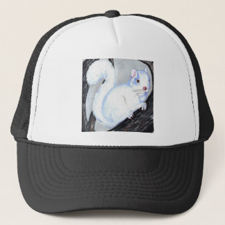 Beautiful Albino Squirrel Trucker Hat