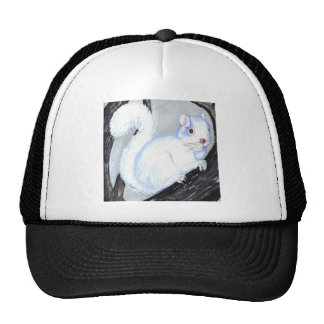Beautiful Albino Squirrel Trucker Hat