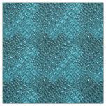 Beautiful Alligator Tooled Leather Fabric