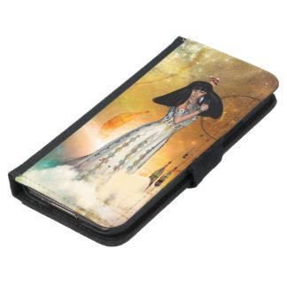 Beautiful amarican indian samsung galaxy s5 wallet case