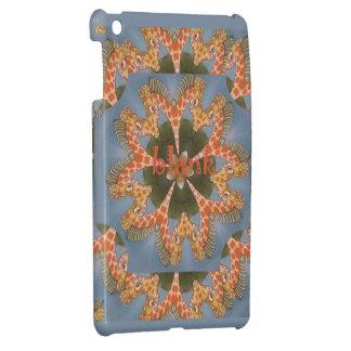 Beautiful amazing African colorful Giraffe blank Case For The iPad Mini