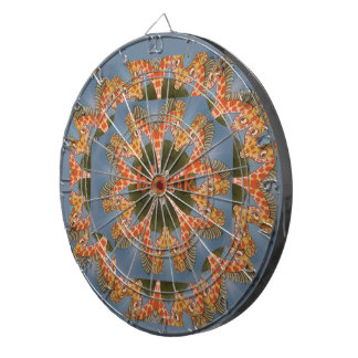 Beautiful amazing African colorful Giraffe blank Dartboard