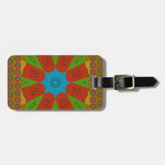 Beautiful Amazing African Feminine Design Colors. Bag Tag