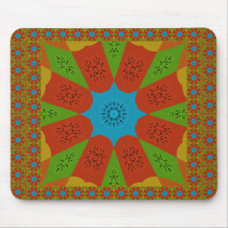 Beautiful Amazing African Feminine Design Colors. Mouse Pad