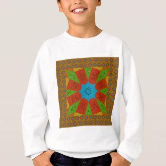 Beautiful Amazing African Feminine Design Colors. Sweatshirt