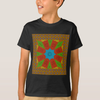 Beautiful Amazing African Feminine Design Colors. T-Shirt