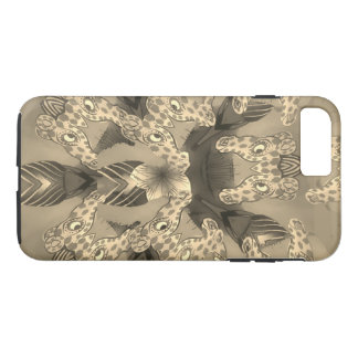 Beautiful amazing African Giraffe Animal print iPhone 8 Plus/7 Plus Case