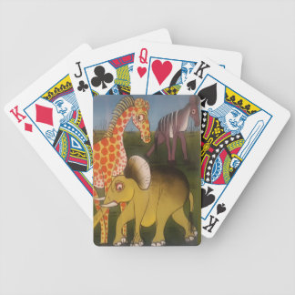 Beautiful Amazing African wild animal safari color Bicycle Playing Cards