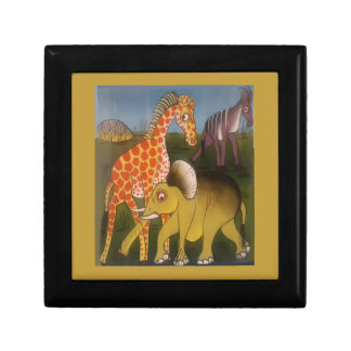 Beautiful Amazing African wild animal safari color Jewelry Box