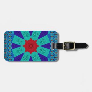 Beautiful Amazing Egyptian  Feminine Design Color Bag Tag