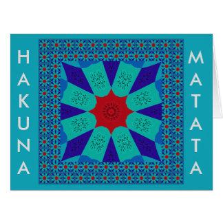 Beautiful Amazing Egyptian  Feminine Design Color Card