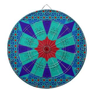 Beautiful Amazing Egyptian  Feminine Design Color Dartboard