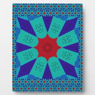 Beautiful Amazing Egyptian  Feminine Design Color Plaque
