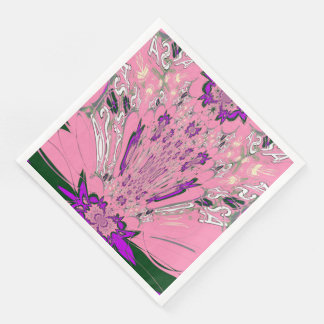 Beautiful amazing Famine floral pattern design Paper Dinner Napkin
