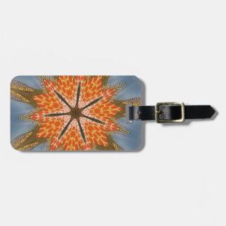 Beautiful amazing feminine African Design animal Luggage Tag