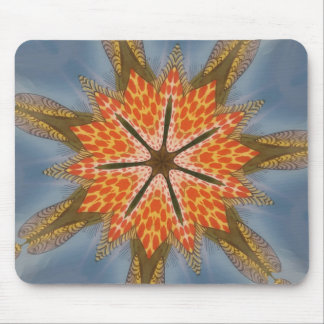 Beautiful amazing feminine African Design.animal p Mouse Pad