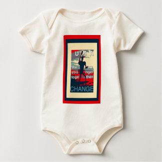 Beautiful amazing feminine design USA Change Baby Bodysuit