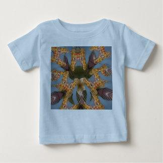 Beautiful amazing Funny African Giraffe pattern de Baby T-Shirt