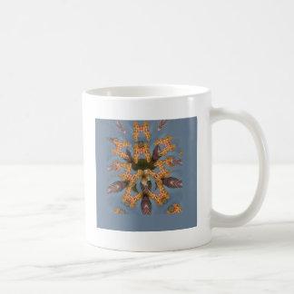 Beautiful amazing Funny African Giraffe pattern de Coffee Mug