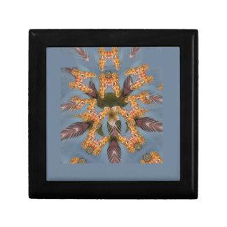 Beautiful amazing Funny African Giraffe pattern de Gift Box