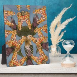 Beautiful amazing Funny African Giraffe pattern de Plaque