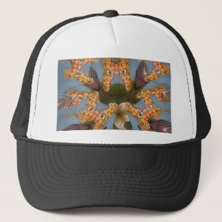 Beautiful amazing Funny African Giraffe pattern de Trucker Hat