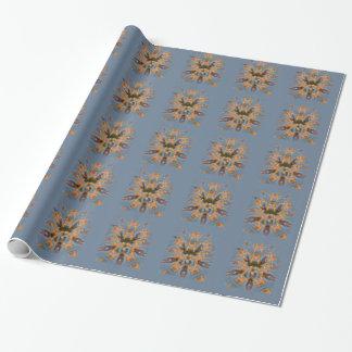 Beautiful amazing Funny African Giraffe pattern de Wrapping Paper