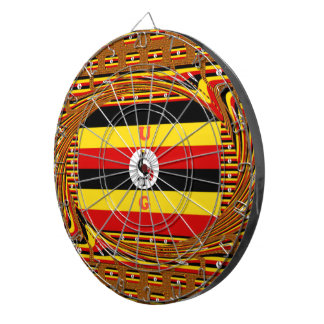 Beautiful amazing Hakuna Matata Lovely Uganda Colo Dartboard
