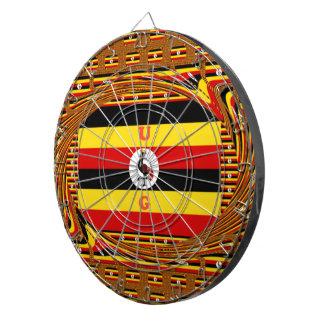 Beautiful amazing Hakuna Matata Lovely Uganda Colo Dartboards