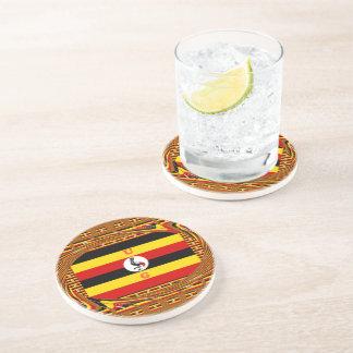 Beautiful amazing Hakuna Matata Lovely Uganda Colo Drink Coasters