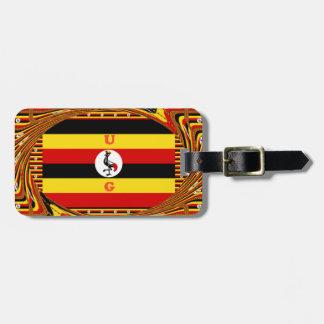 Beautiful amazing Hakuna Matata Lovely Uganda Colo Luggage Tag