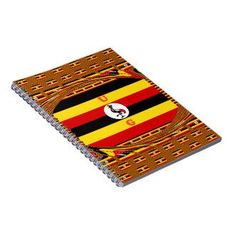 Beautiful amazing Hakuna Matata Lovely Uganda Colo Notebook