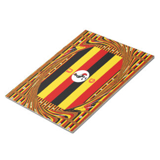 Beautiful amazing Hakuna Matata Lovely Uganda Colo Notepad