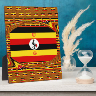 Beautiful amazing Hakuna Matata Lovely Uganda Colo Plaque
